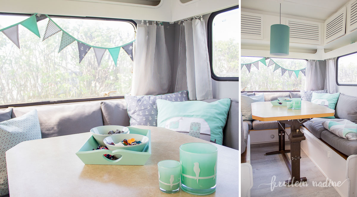 How To Paint Caravan Interior