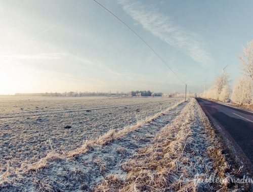 Winterlandschaft in Großenwiehe