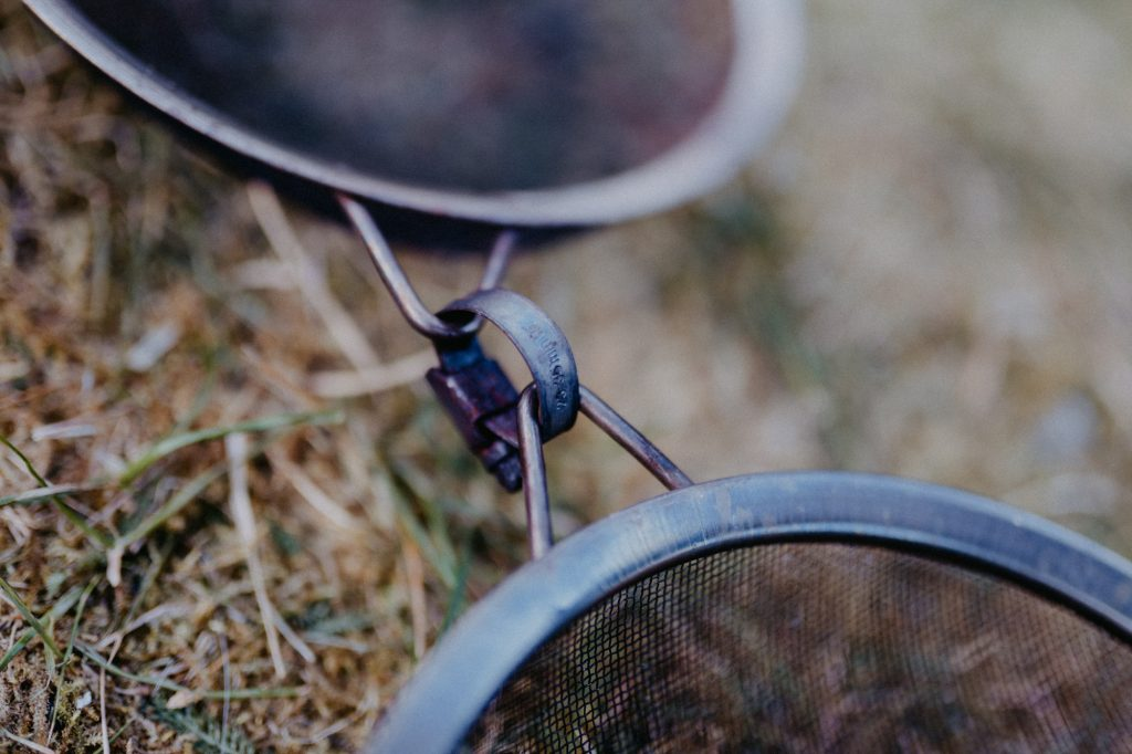 Popcornsieb - DIY Popcorn über offenem Feuer